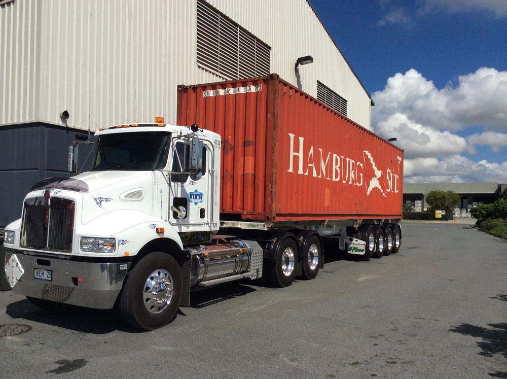 Wemyss Tranport Container Truck