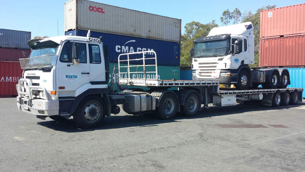 Wemyss Truck trailer